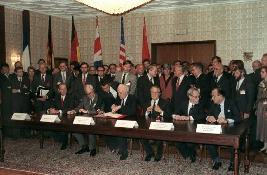 The signing of the final settlement with respect to Germany
