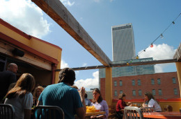 (Rooftop Dining Downtown @ El Guapo)