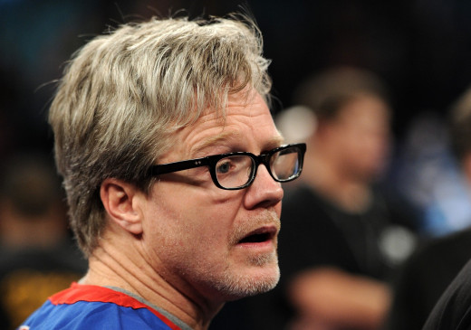 Coach Freddie Roach always has something on his sleeves during Manny's fights. Having a good coach is an advantage.