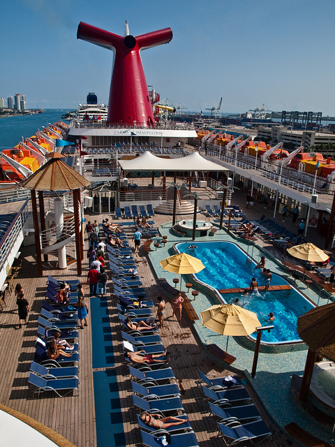 Carnival Imagination Lido Deck