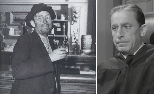 James Nusser as Louie, the town drunk.
