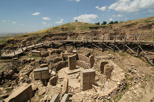 Remains of Gobekli Tepe