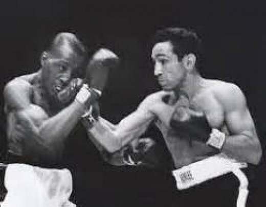Sandy Saddler fought Willie Pep four times winning three of them.