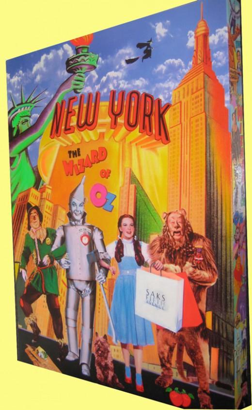 THE OUT OF TOWNERS by Nelson De La Nuez