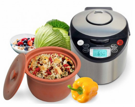 Slow cooker without ceramic, lead, or aluminum
