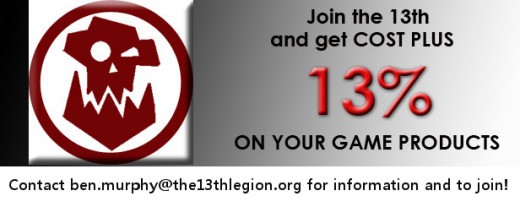 Join The 13th Legion!