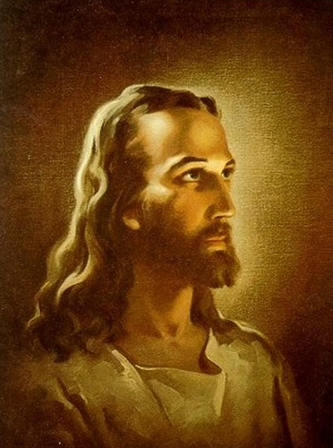 HEAD OF CHRIST by Warner Sallman