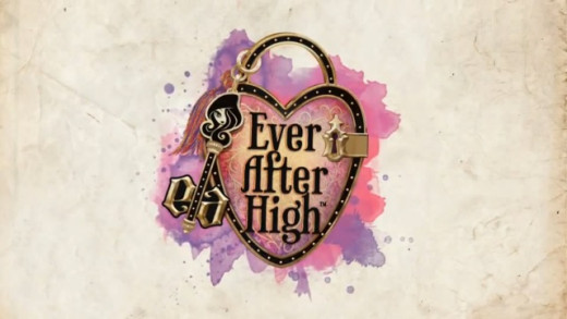 Another logo for the series Ever After High. And for the toys as well.