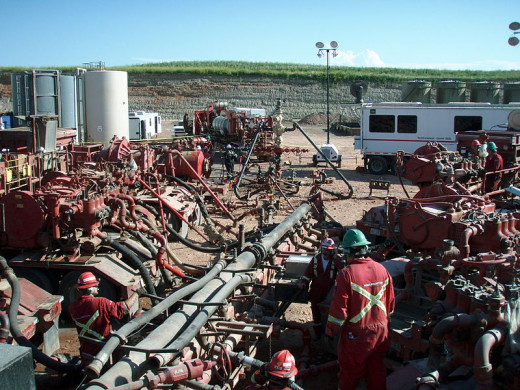 Fracking the Bakken Formation in North Dakota