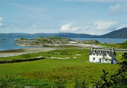 Camusfearna - the house at Sandaig