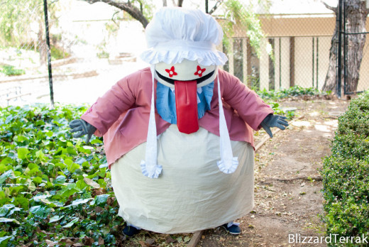 FF9's Quina Quen: weird in the game, absolutely terrifying in real life.