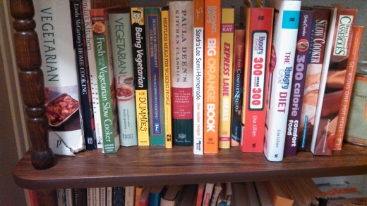Become an avid reader of cookbooks.