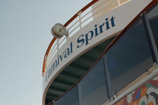 Carnival Spirit Lido Deck