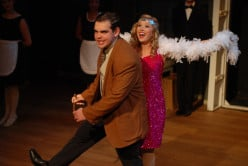 "A scene from ""The Drowsy Chaperone,"" a hit Broadway play."