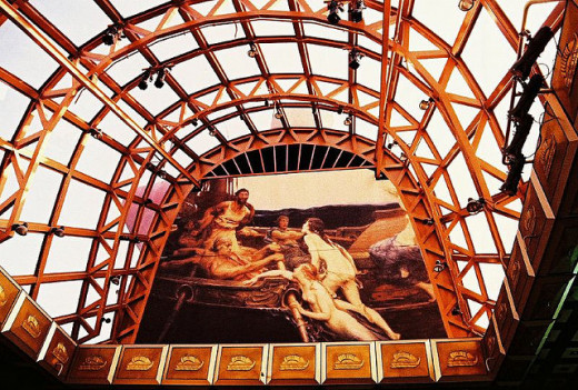 Golden Fleece Restaurant Dome