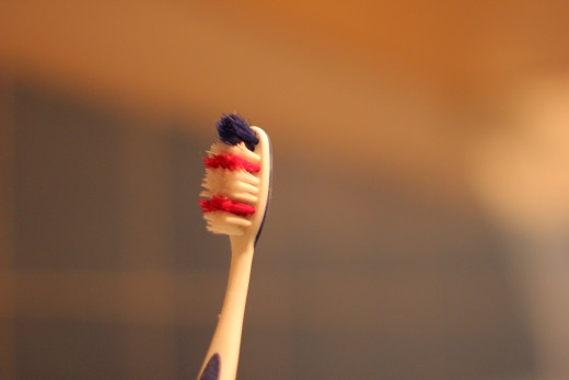 You should replace your toothbrush as soon as its bristles begin to fray or bend.