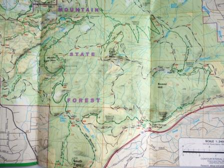 Green Trails Map