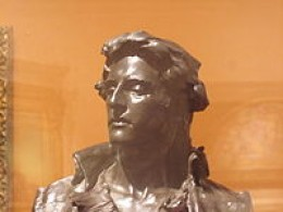 Nathan Hale in bronze, Brooklyn Museum
