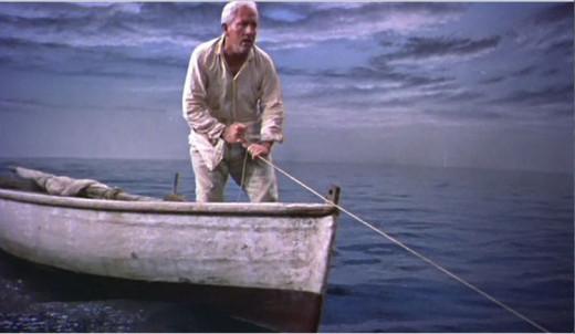 лодка старик и море