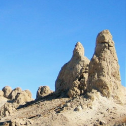 The Trona Pinnacles