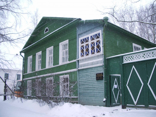 The Dostoevsky house in Staraya Russa