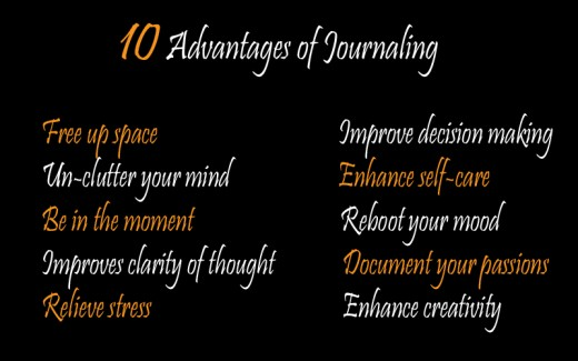 10 Tips to improve your life through journaling