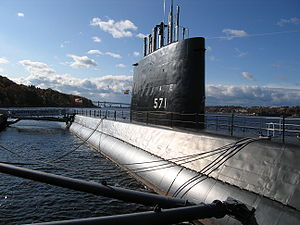 USS Nautilus nuclear-powered submarine