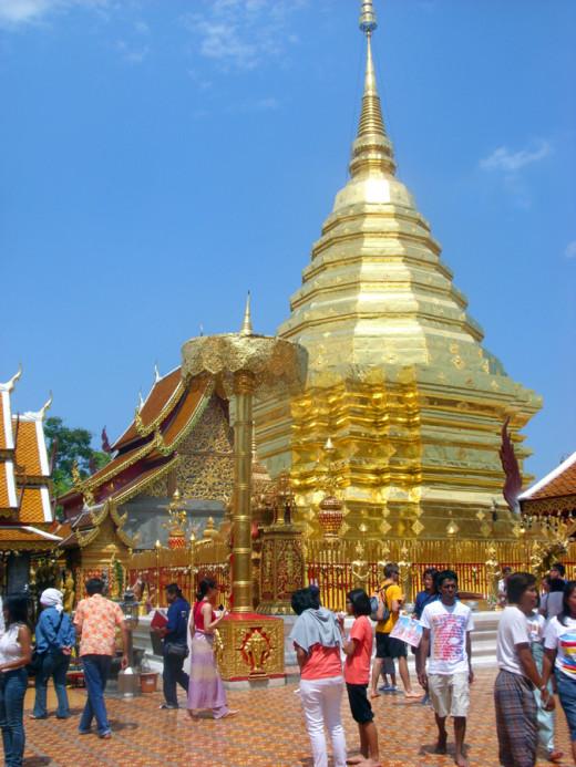 Doi Suthep Chedi (Pagoda)