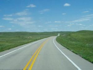 A Nebraska highway