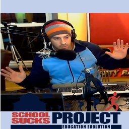 The School Sucks Show talks about the history of education and the problems in the current educational system