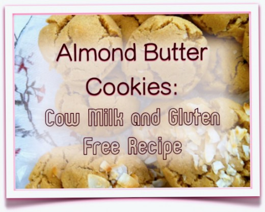 With or without a coconut topping, almond cookies offer more than great taste.