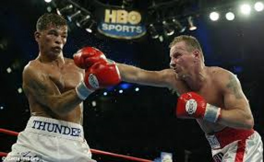 Mickey Ward fought Arturo Gatti three times in classic bouts.