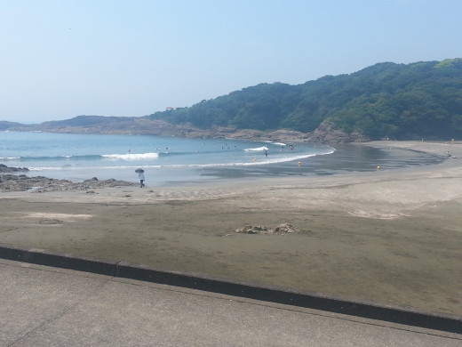 Miyazaki Japan is famous for beaches and surfing.