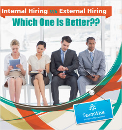 Internal Hiring Vs. External Hiring – Which One Is Better??