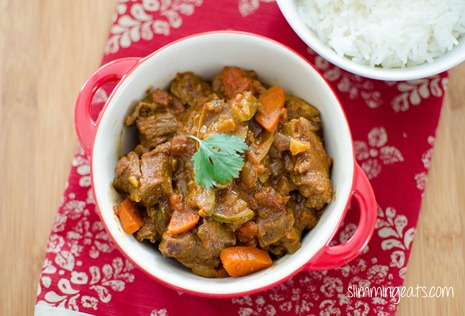 Syn Free Slimming World Lamb Curry