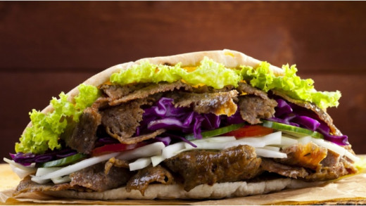 Syn-Free Slimming World Lamb Doner Kebab