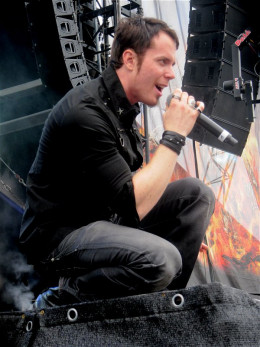 Tommy Karevik singing at the Bang Your Head!!! 2012 Festival by Yvonne