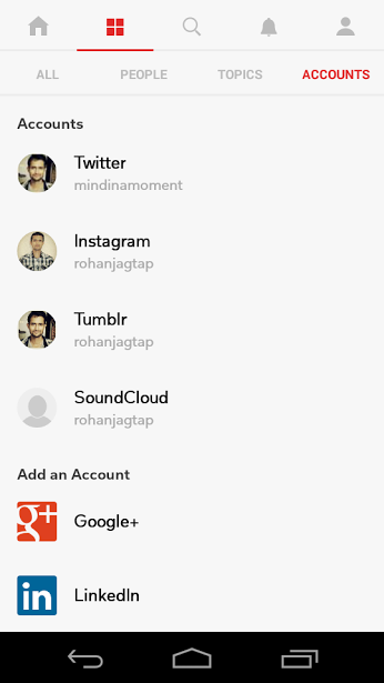 Connect your Social Accounts with Flipboard App to Save Internal Memory