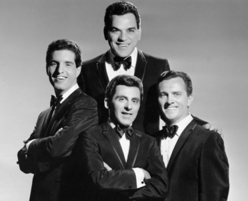 Frankie Valli and The Four Seasons.