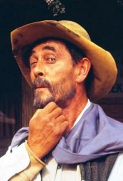 """The late, Ken Curtis-- member of Sons of The Pioneers, """"Festus Hagan,"""" on Gunsmoke."""
