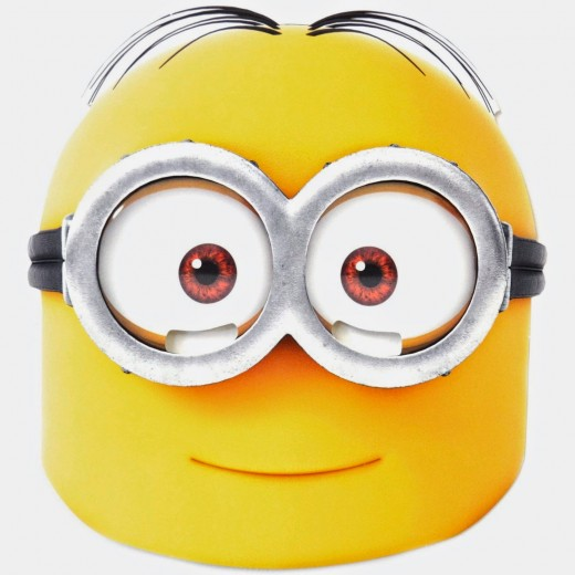 Printable Minion Face Mask