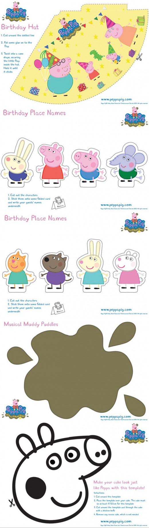peppa pig party ideas u0026 diy for parties hubpages