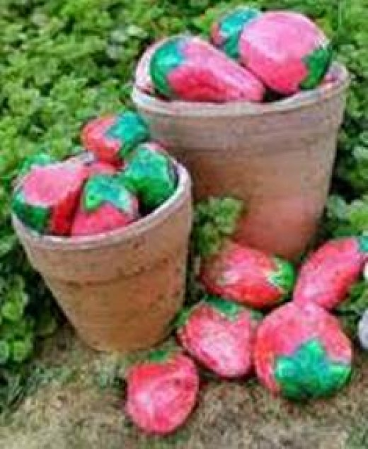 """These """"strawberries"""" rock!"""