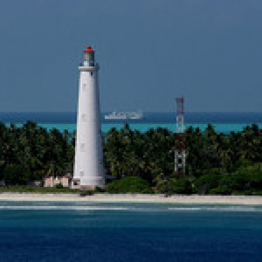 Light House at Minicoy Island
