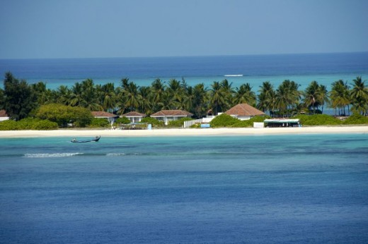 Beach Resort at Kadmat Island