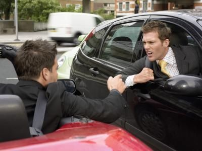 Some road rage incidents lead t face-to-face violence that can cause injuries.