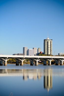 (View Of Downtown From 71st Street Bridge)