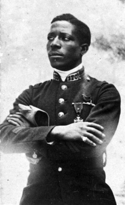 Eugene Bullard's story is told in the book Black Swallow of Death