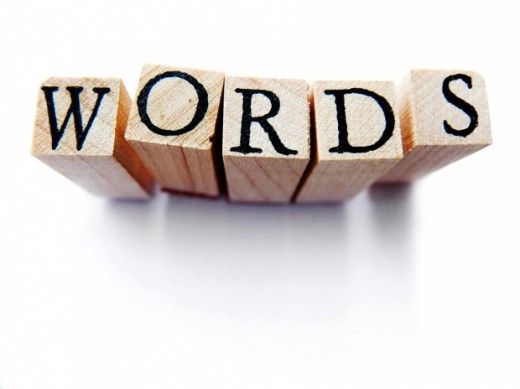 Words are more emotional when put into writing.