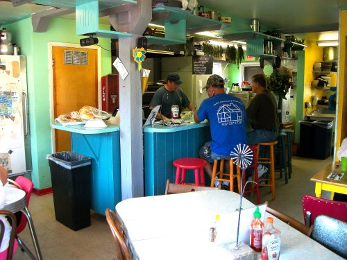 If you are in Milford Center, Ohio and want to eat at a hole-in-the-wall, try The Smiling Daisy Cafe